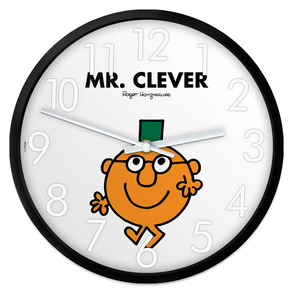 Mr. Clever Personalised Clock