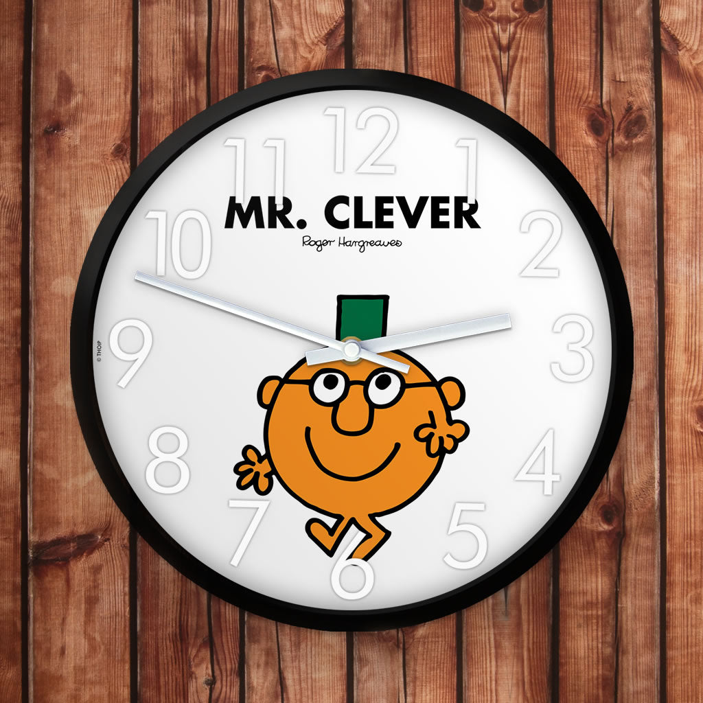 Mr. Clever Personalised Clock (Lifestyle)