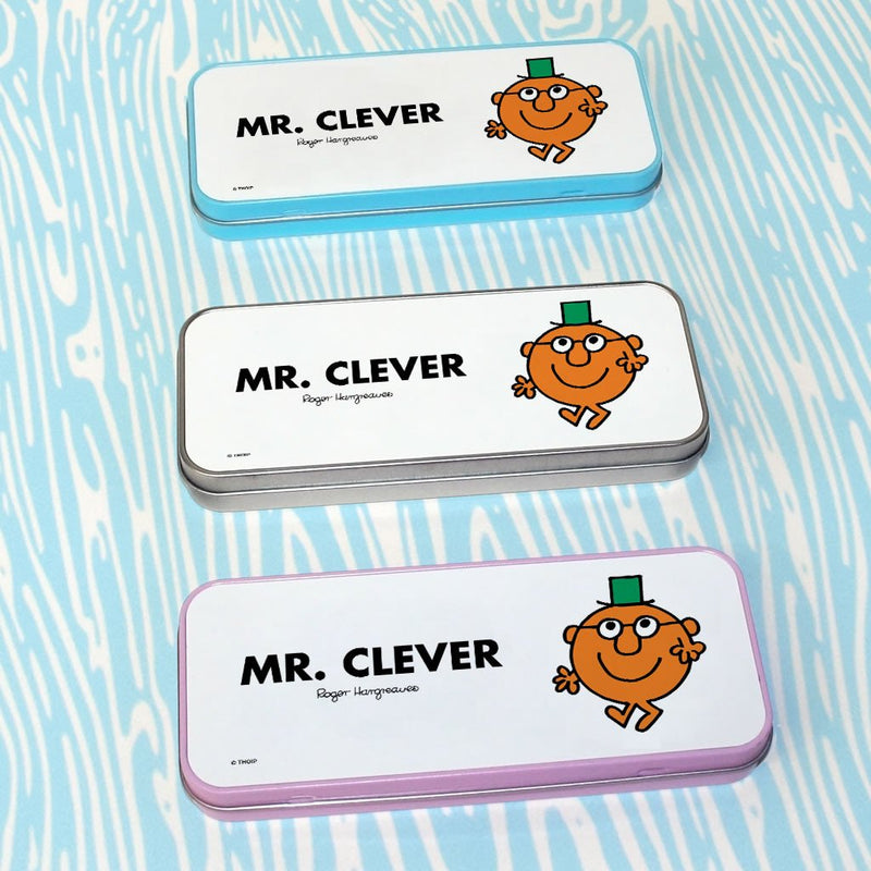 Mr. Clever Pencil Case Tin (Lifestyle)