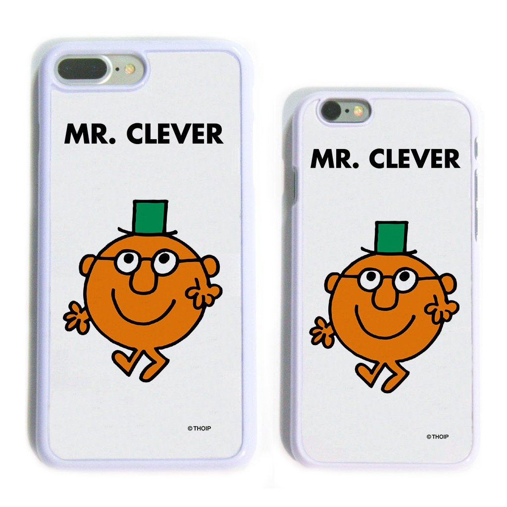 Mr. Clever White Phone Case