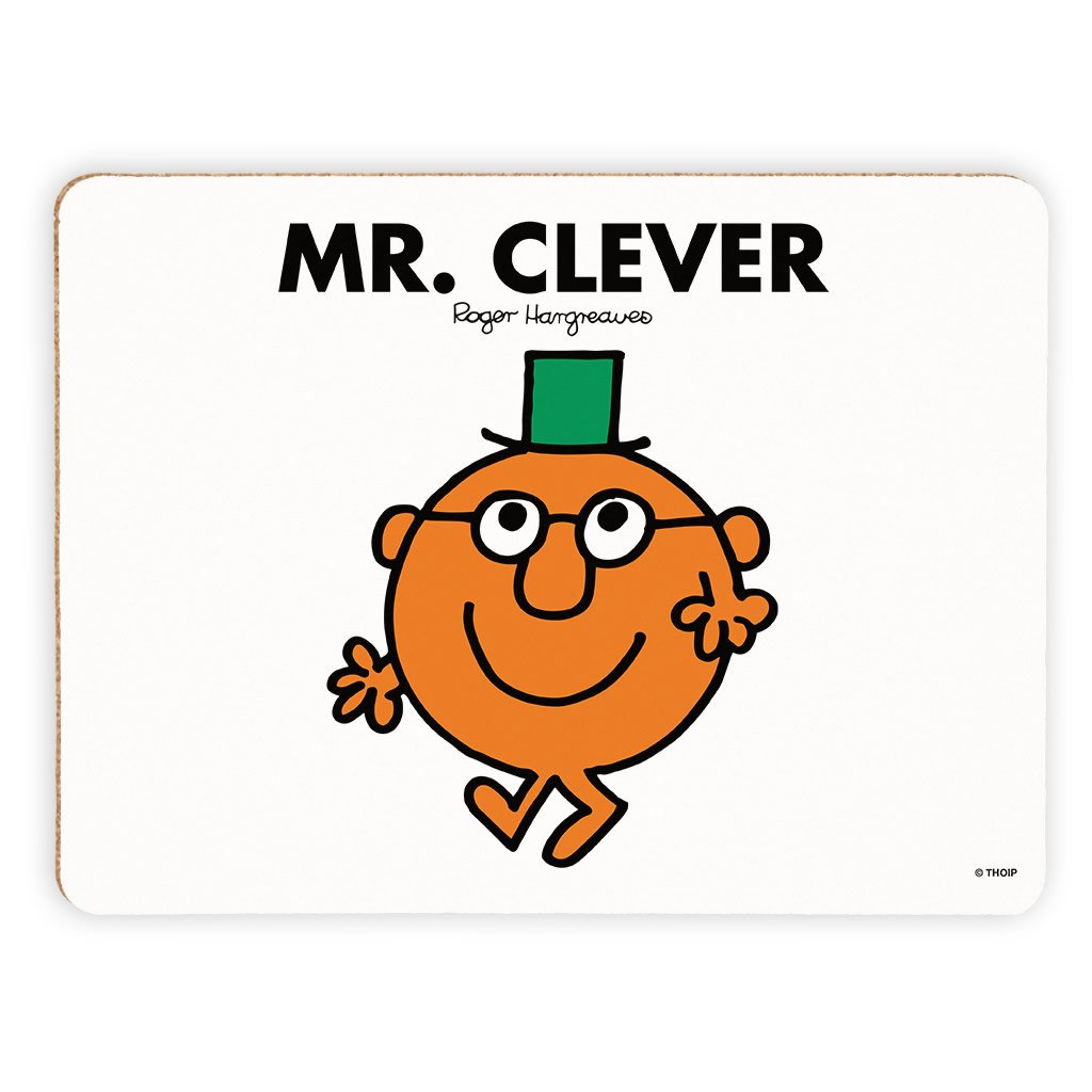 Mr. Clever Cork Placemat