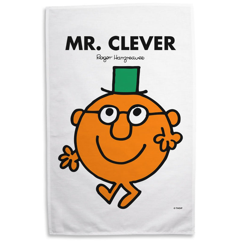 Mr. Clever Tea Towel