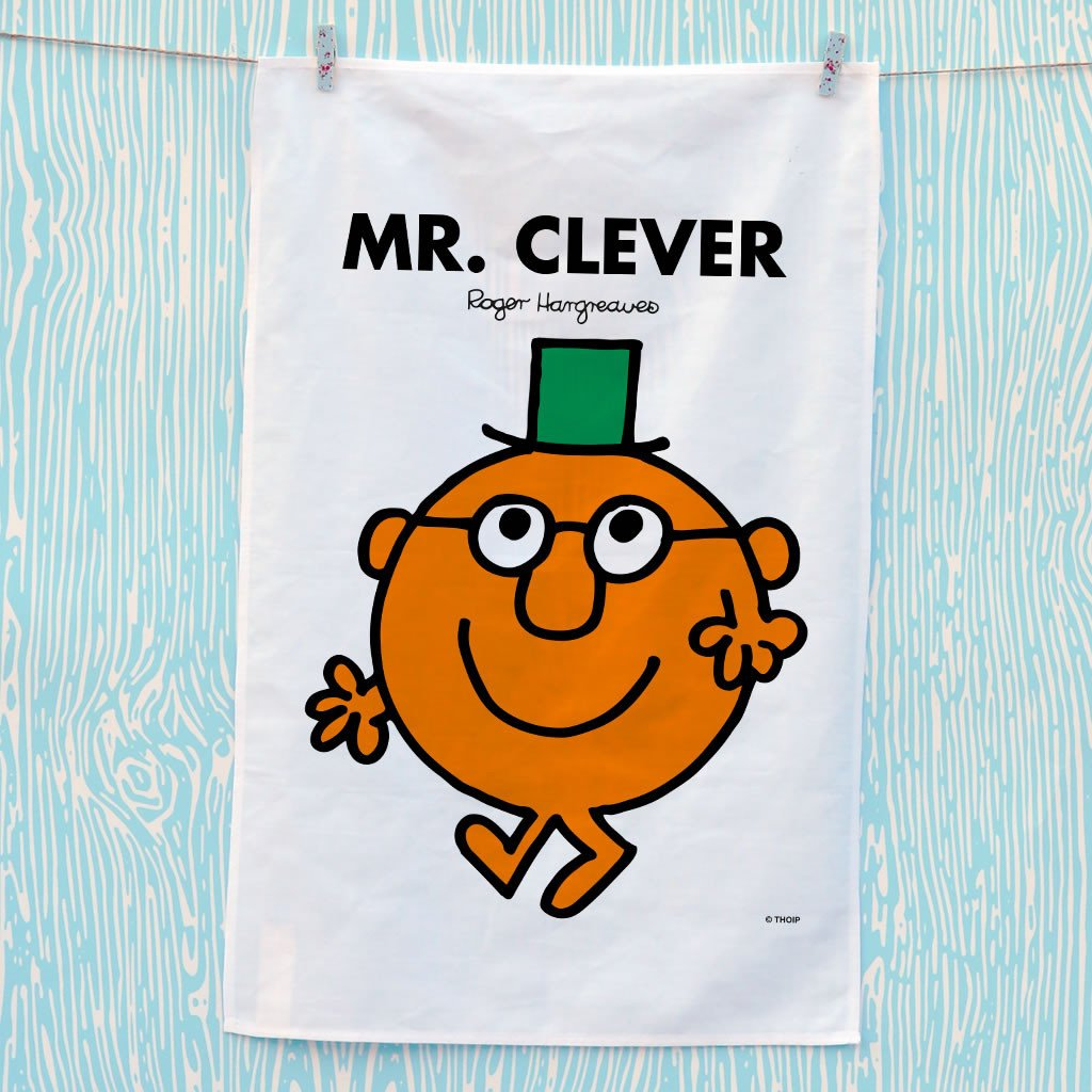Mr. Clever Tea Towel (Lifestyle)