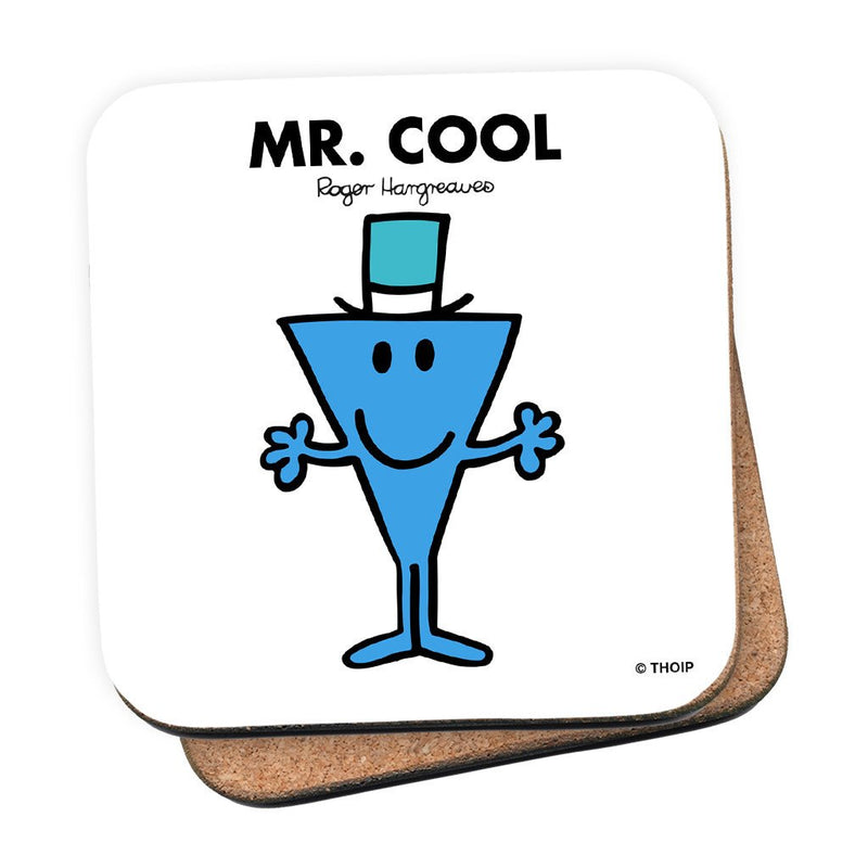 Mr. Cool Cork Coaster