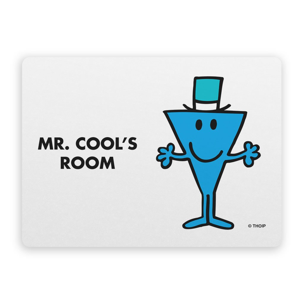Mr. Cool Door Plaque