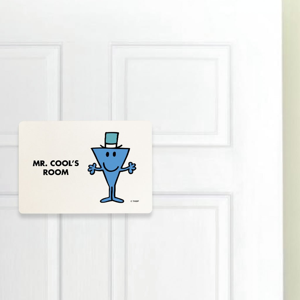 Mr. Cool Door Plaque (Lifestyle)