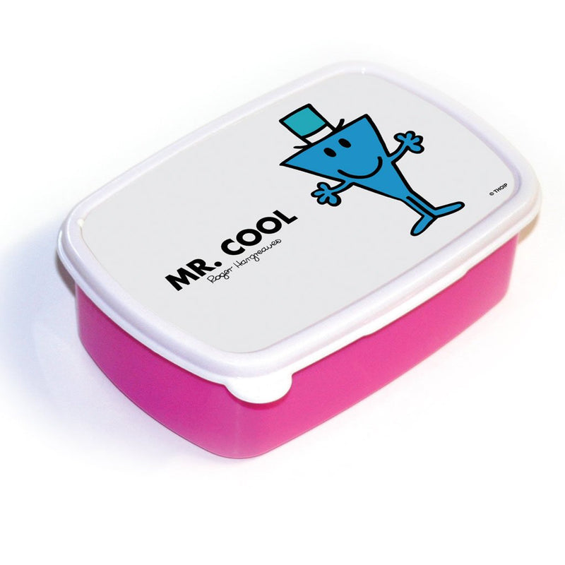 Mr. Cool Lunchbox (Pink)