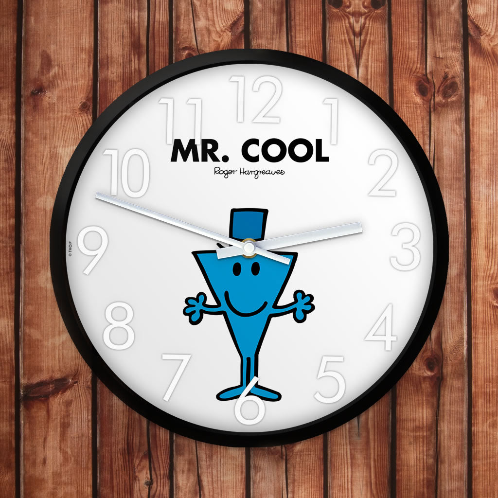 Mr. Cool Personalised Clock (Lifestyle)