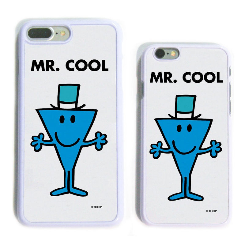 Mr. Cool White Phone Case