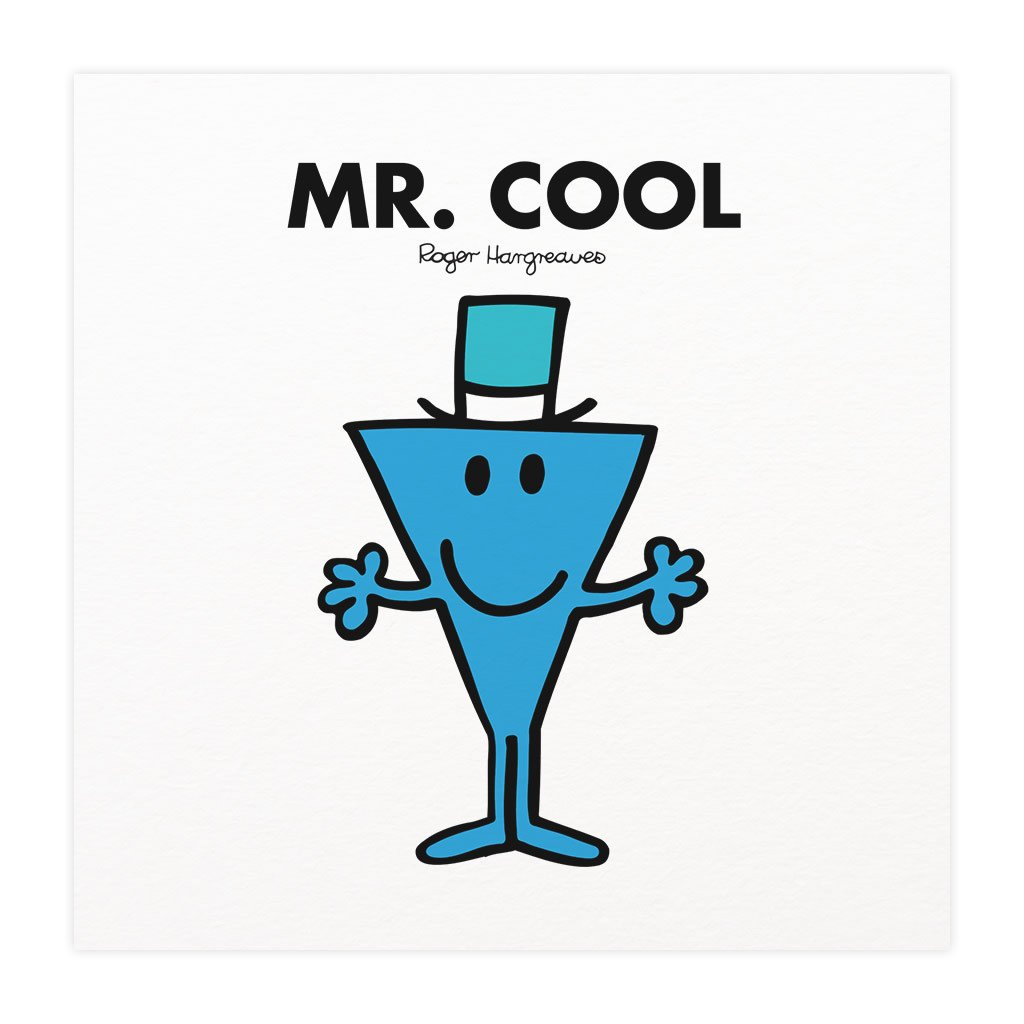 Mr. Cool Mounted Art Print