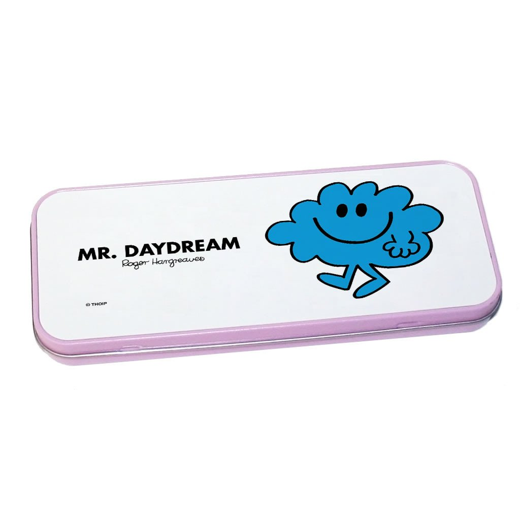 Mr. Daydream Pencil Case Tin (Pink)