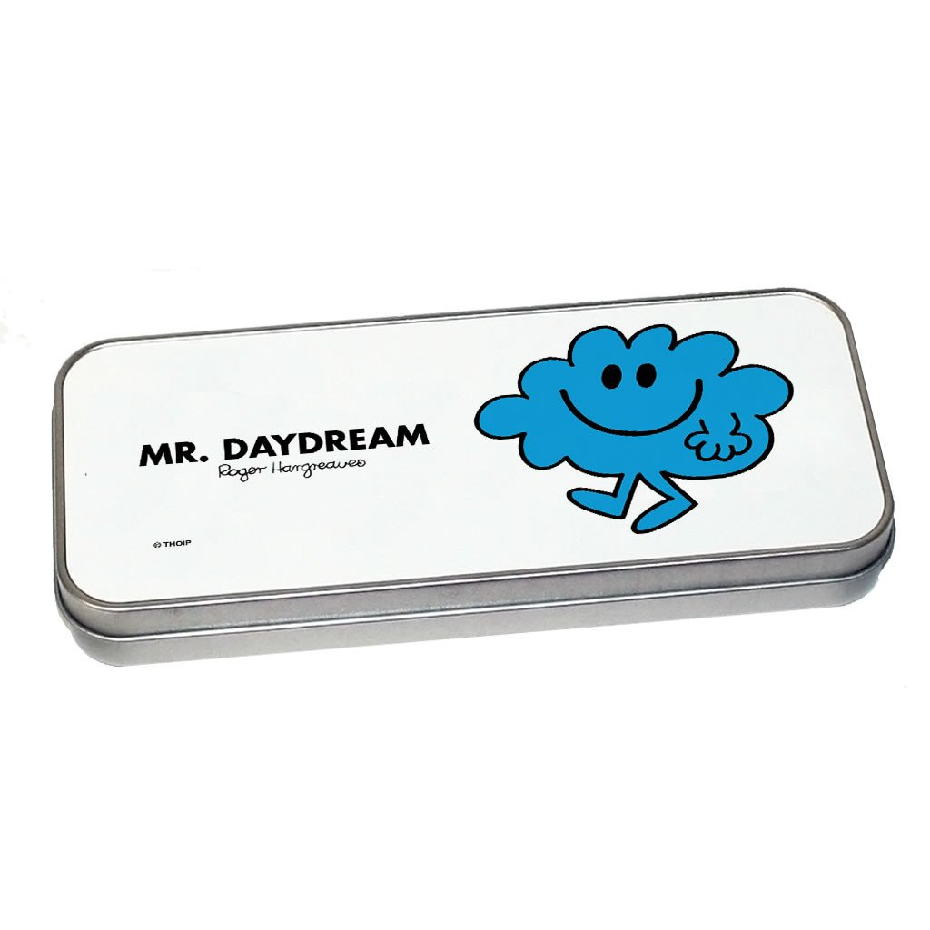 Mr. Daydream Pencil Case Tin (Silver)