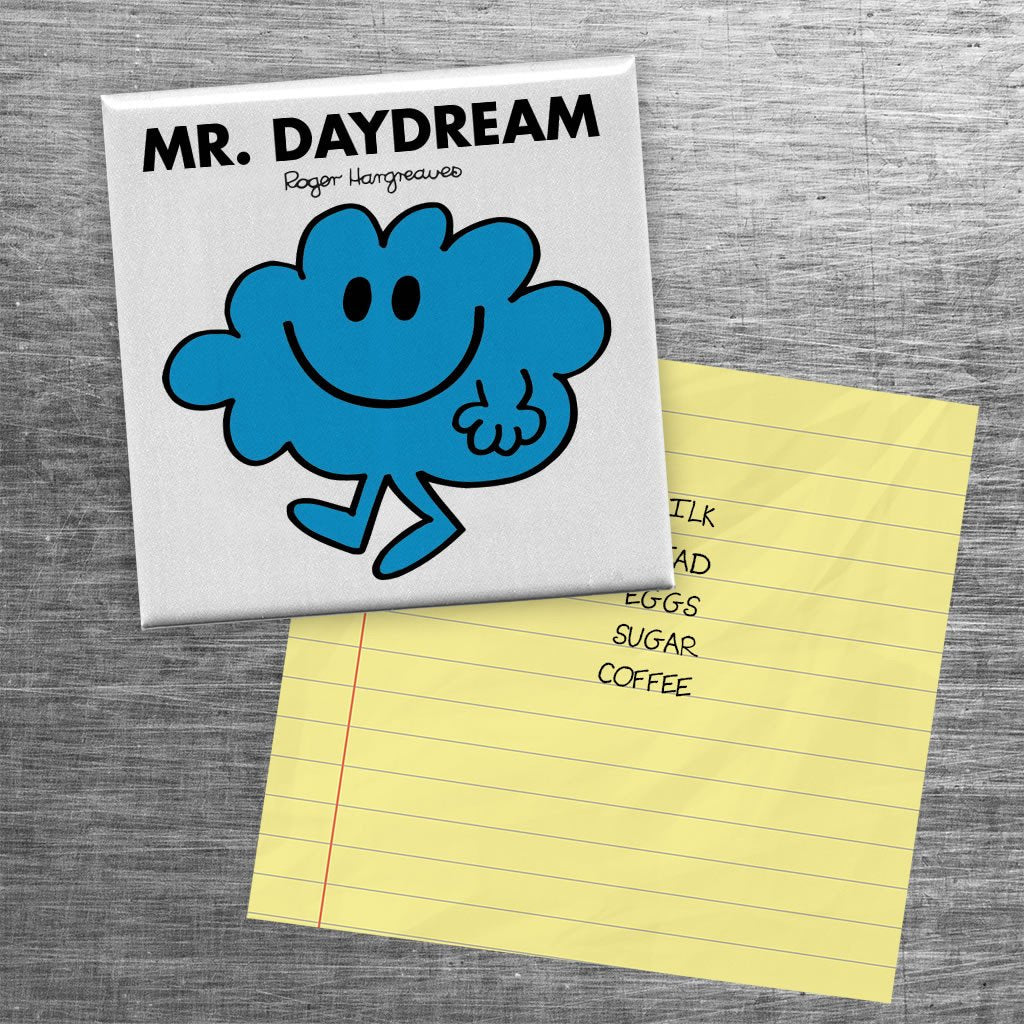 Mr. Daydream Square Magnet (Lifestyle)