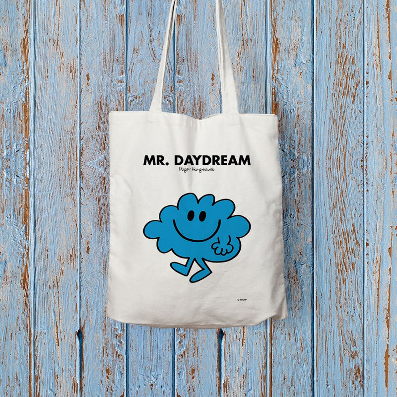 Mr. Daydream Long Handled Tote Bag (Lifestyle)