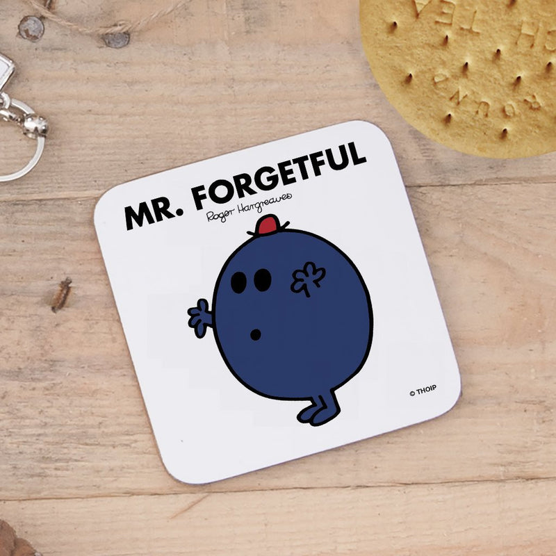 Mr. Forgetful Cork Coaster (Lifestyle)