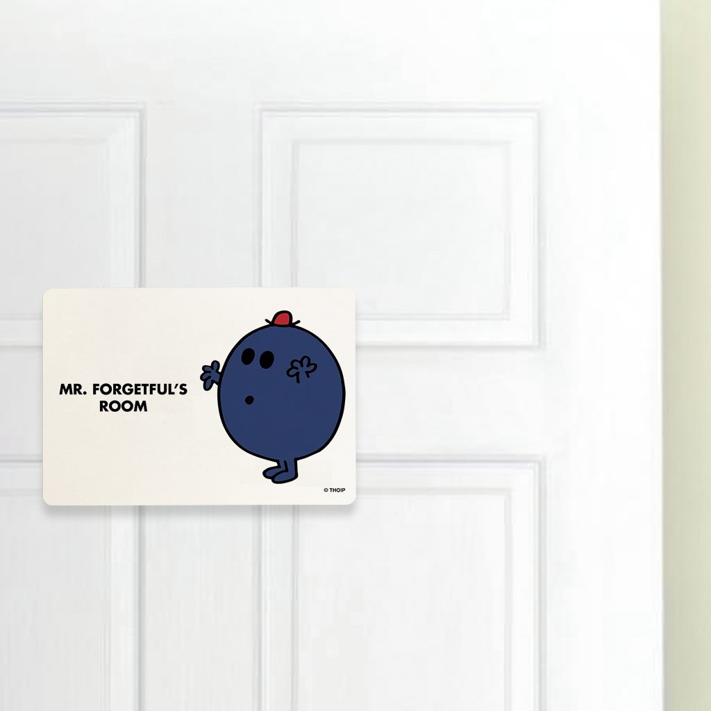 Mr. Forgetful Door Plaque (Lifestyle)