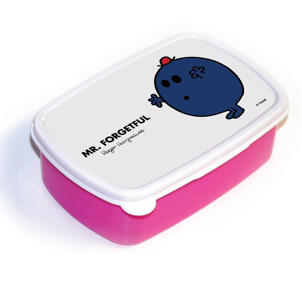 Mr. Forgetful Lunchbox (Pink)