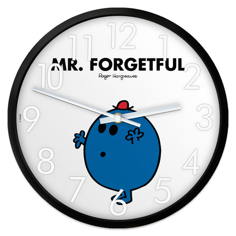 Mr. Forgetful Personalised Clock