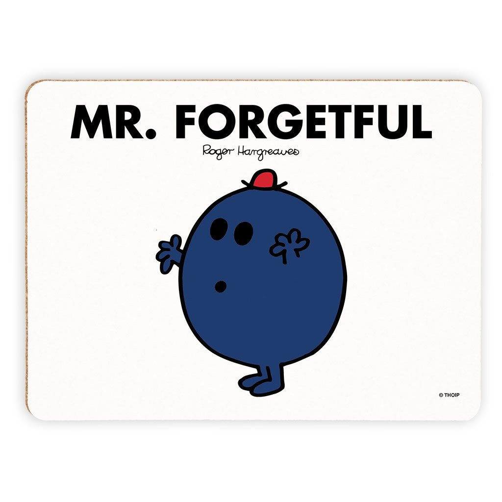 Mr. Forgetful Cork Placemat