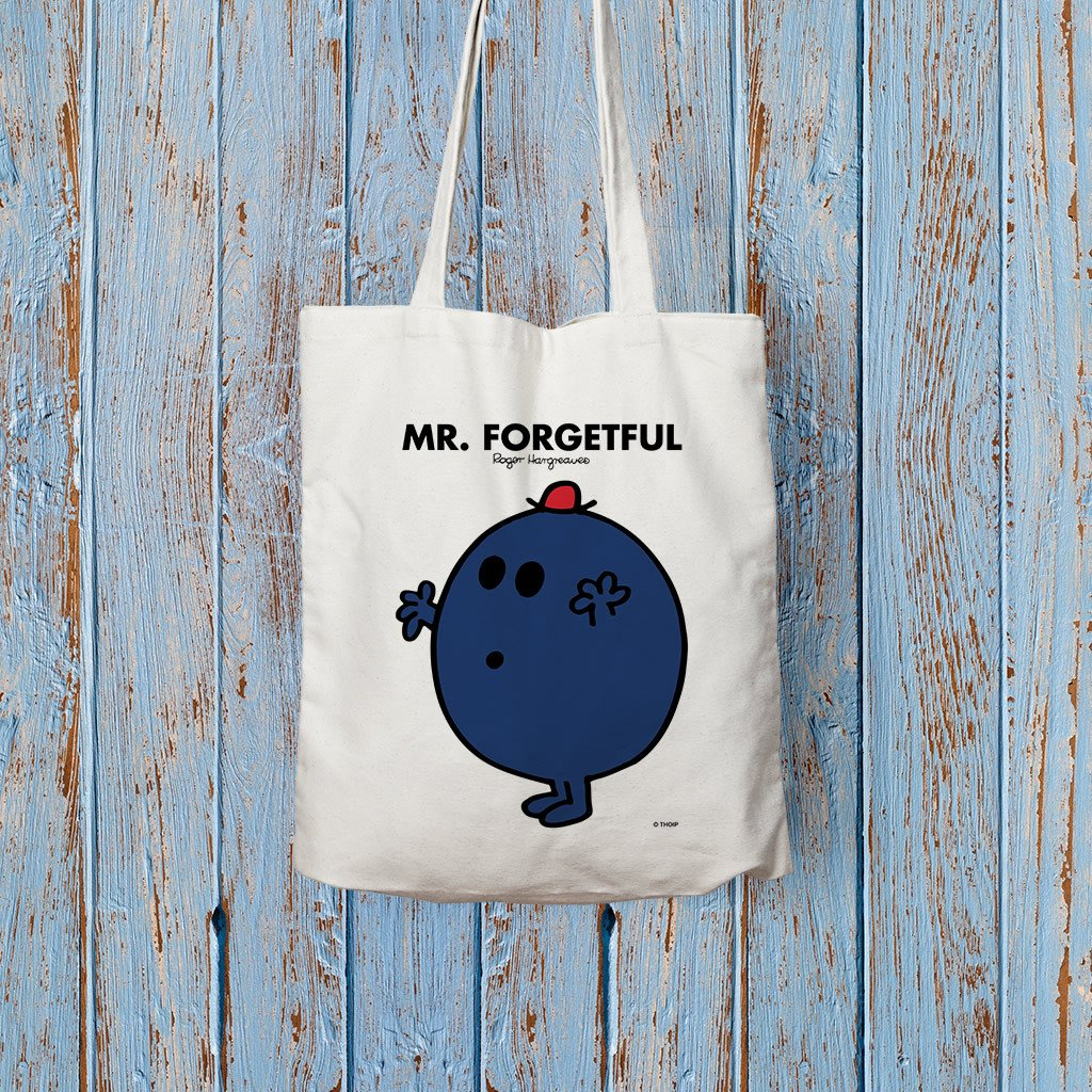 Mr. Forgetful Long Handled Tote Bag (Lifestyle)