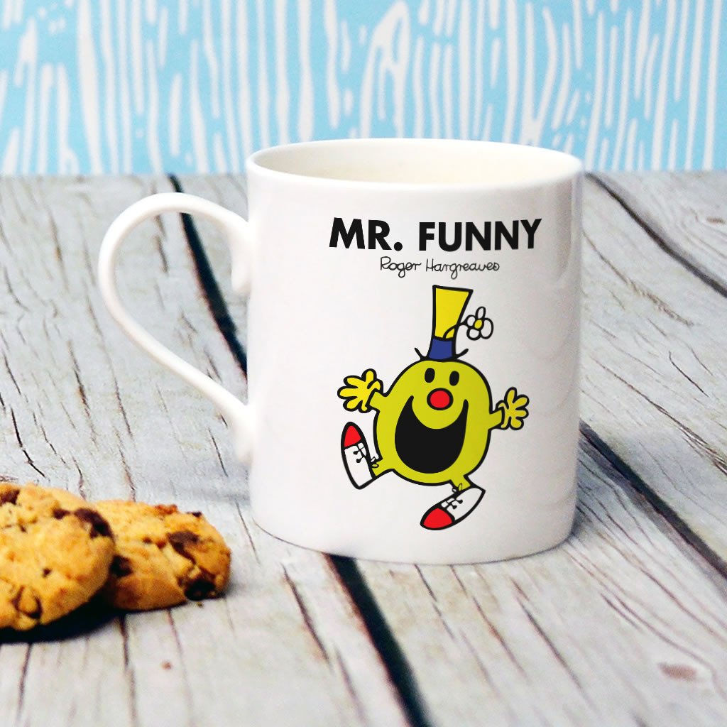 Mr. Funny Bone China Mug (Lifestyle)