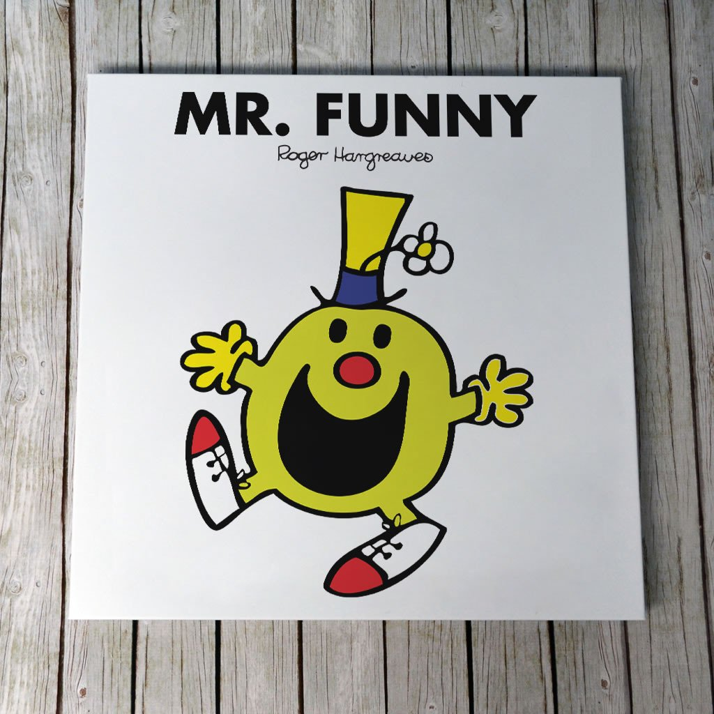Mr. Funny Canvas (Lifestyle)