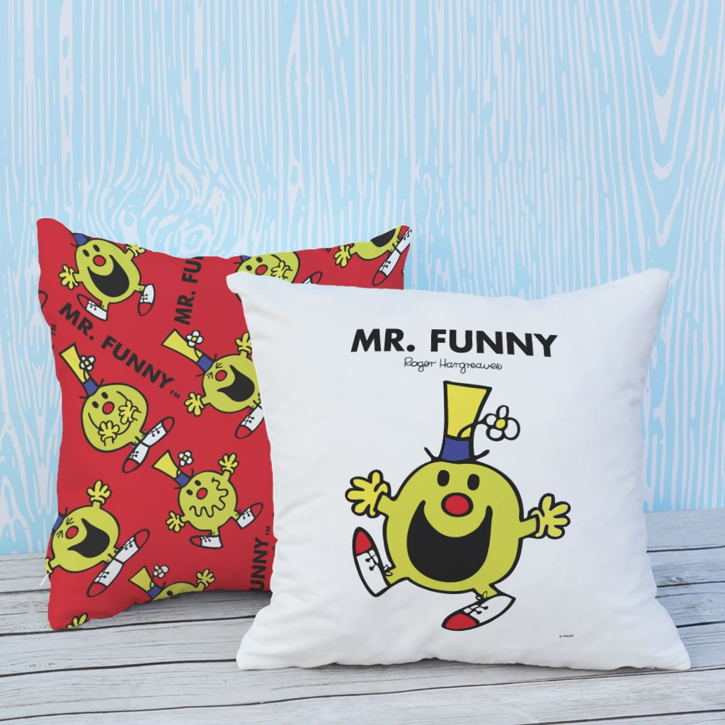 Mr. Funny Micro Fibre Cushion (Lifestyle)