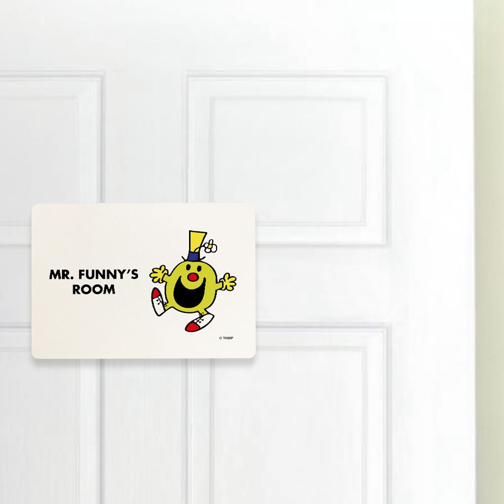 Mr. Funny Door Plaque (Lifestyle)