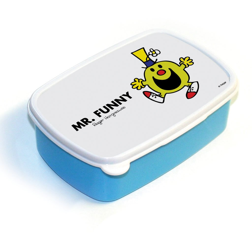 Mr. Funny Lunchbox (Blue)