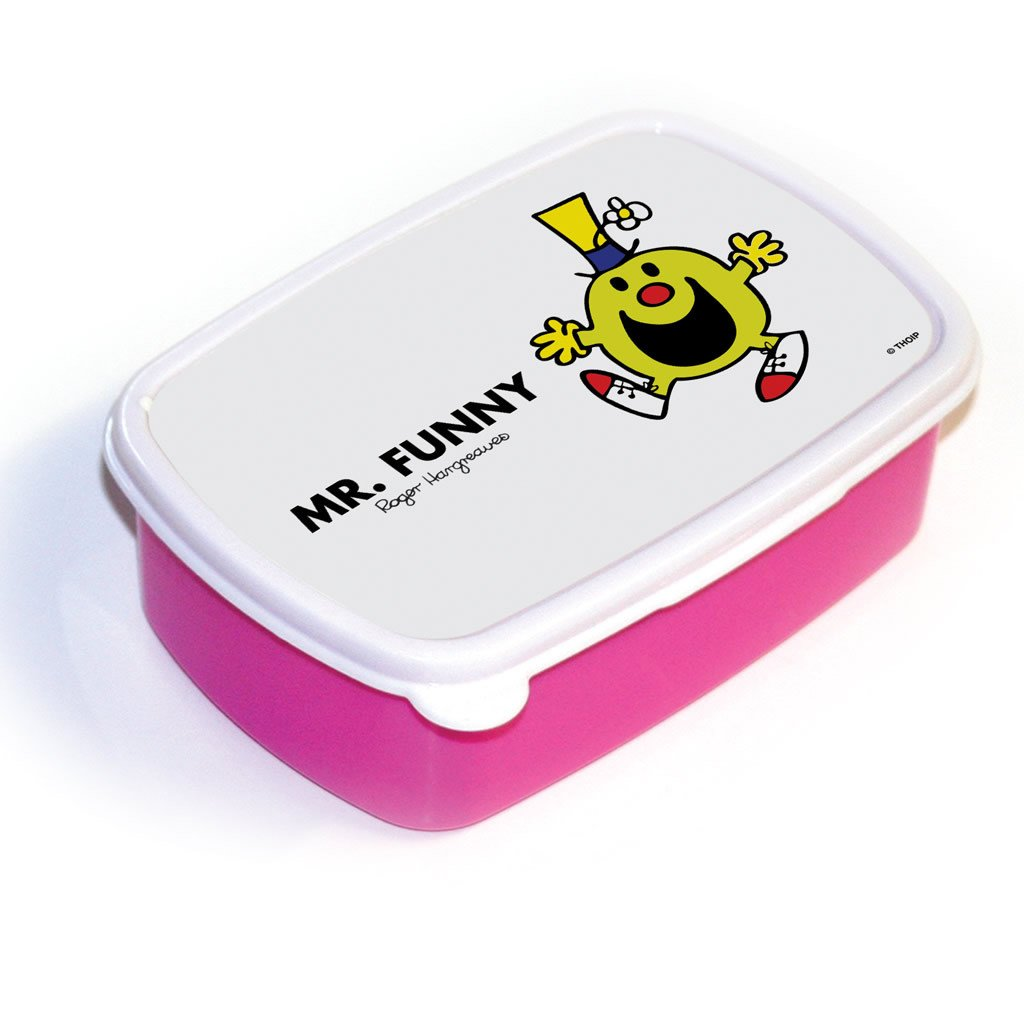 Mr. Funny Lunchbox (Pink)