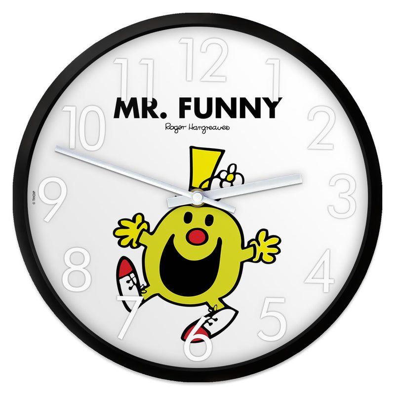 Mr. Funny Personalised Clock
