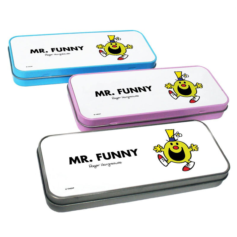 Mr. Funny Pencil Case Tin