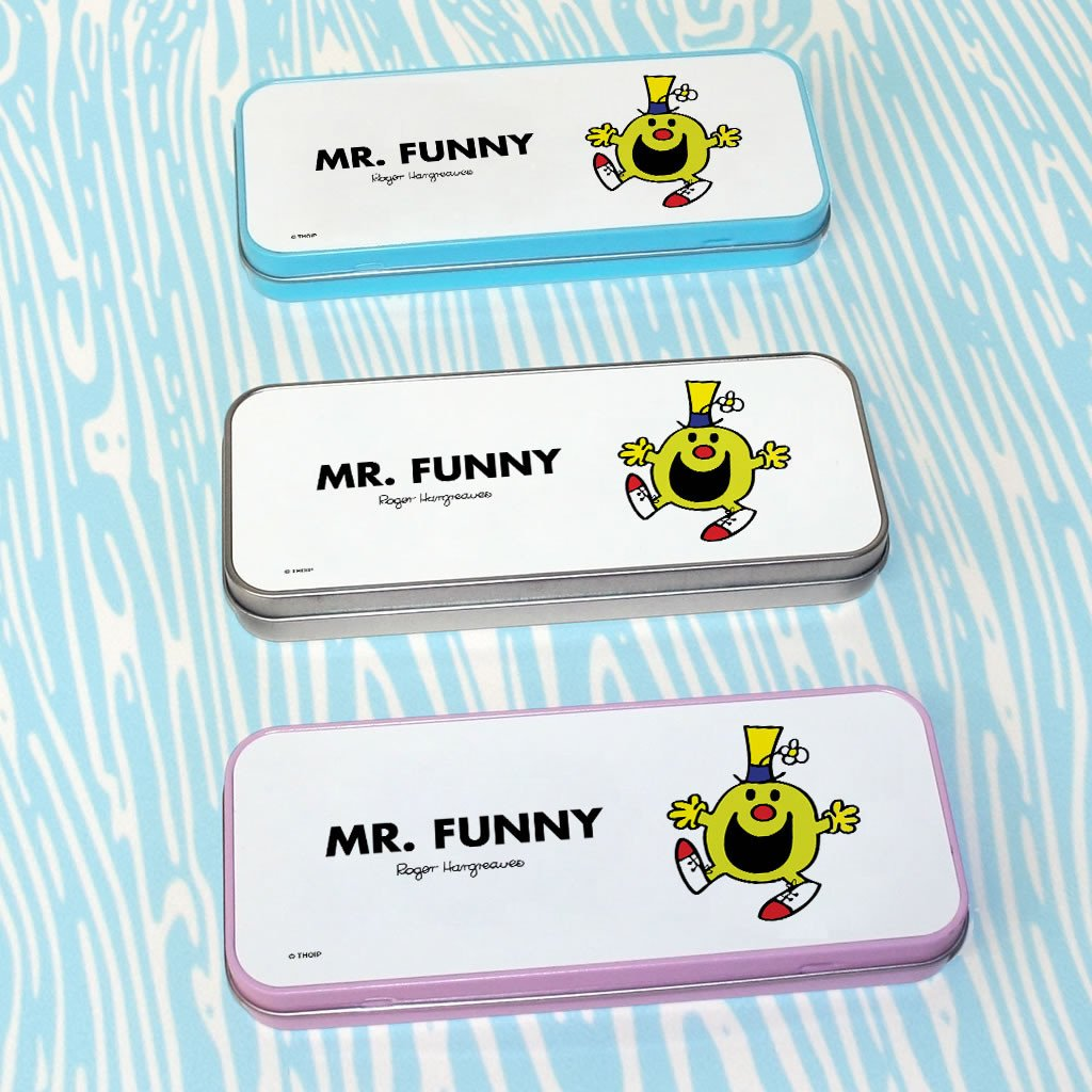 Mr. Funny Pencil Case Tin (Lifestyle)