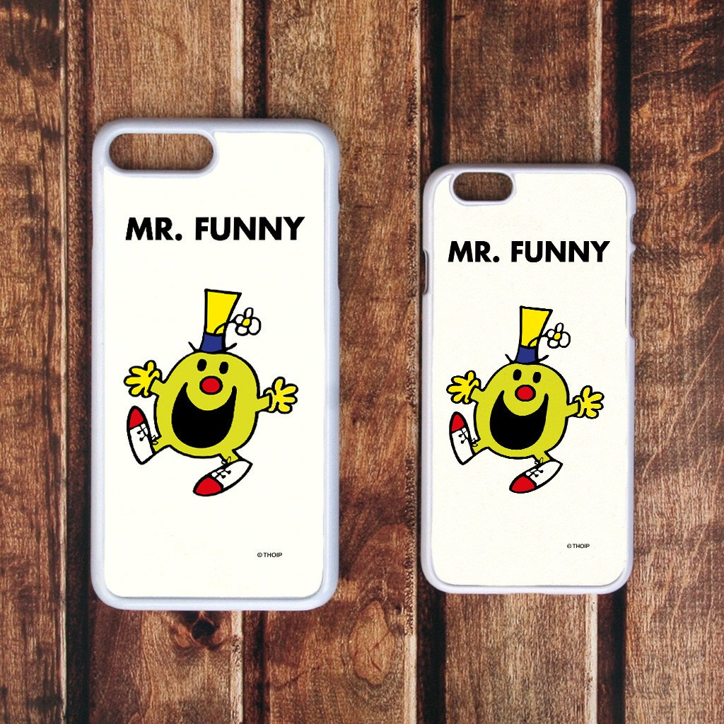 Mr. Funny White Phone Case (Lifestyle)