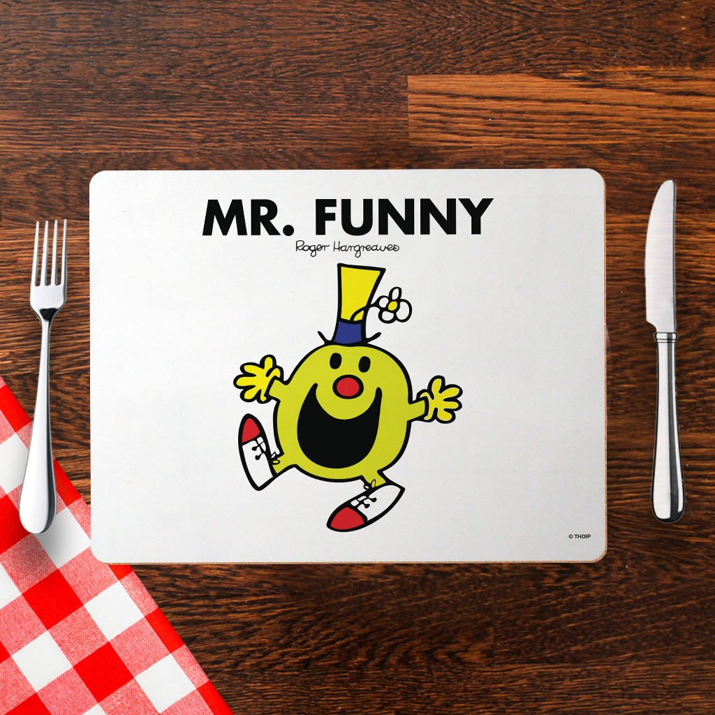 Mr. Funny Cork Placemat (Lifestyle)
