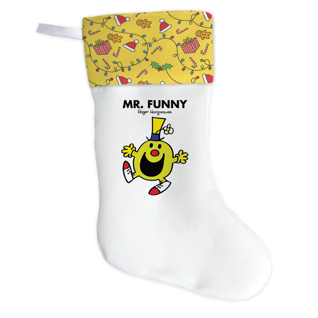 Mr. Funny Christmas Stocking (Front)