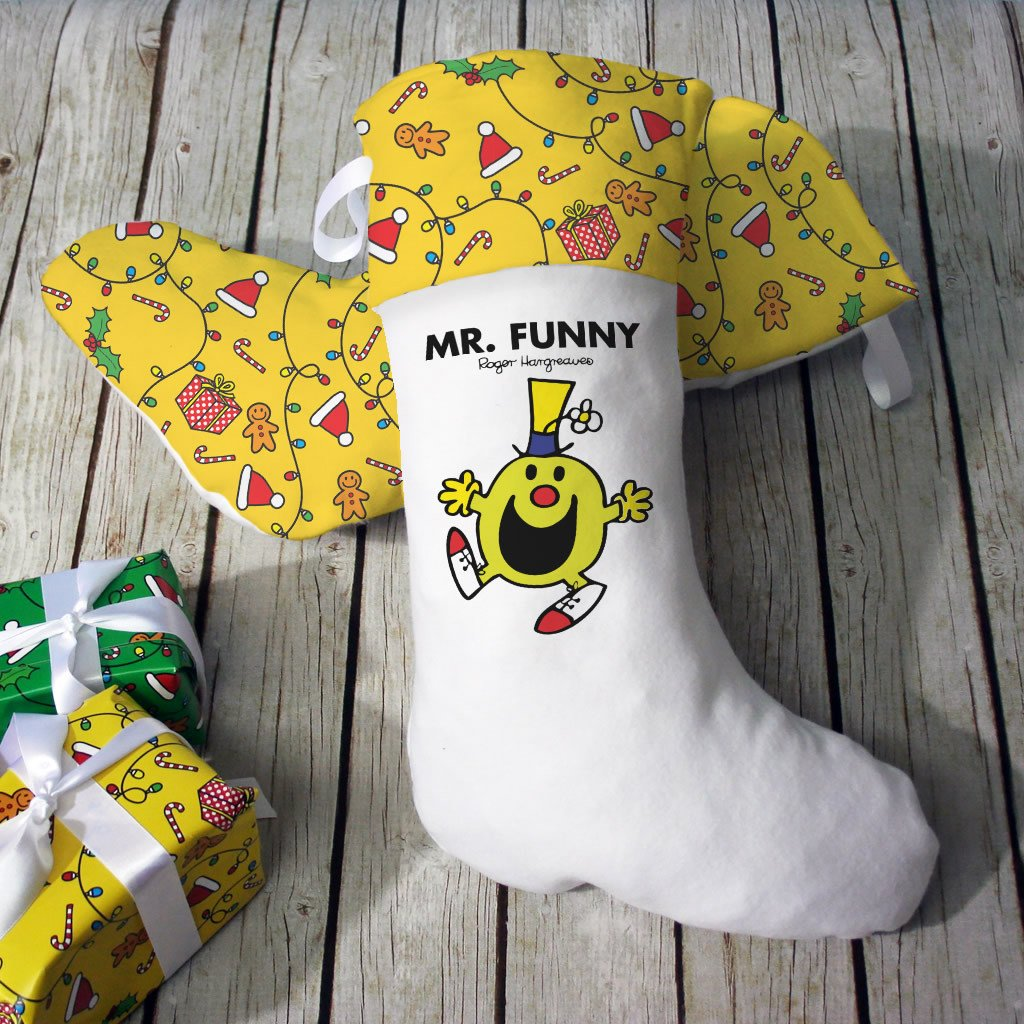 Mr. Funny Christmas Stocking (Lifestyle)