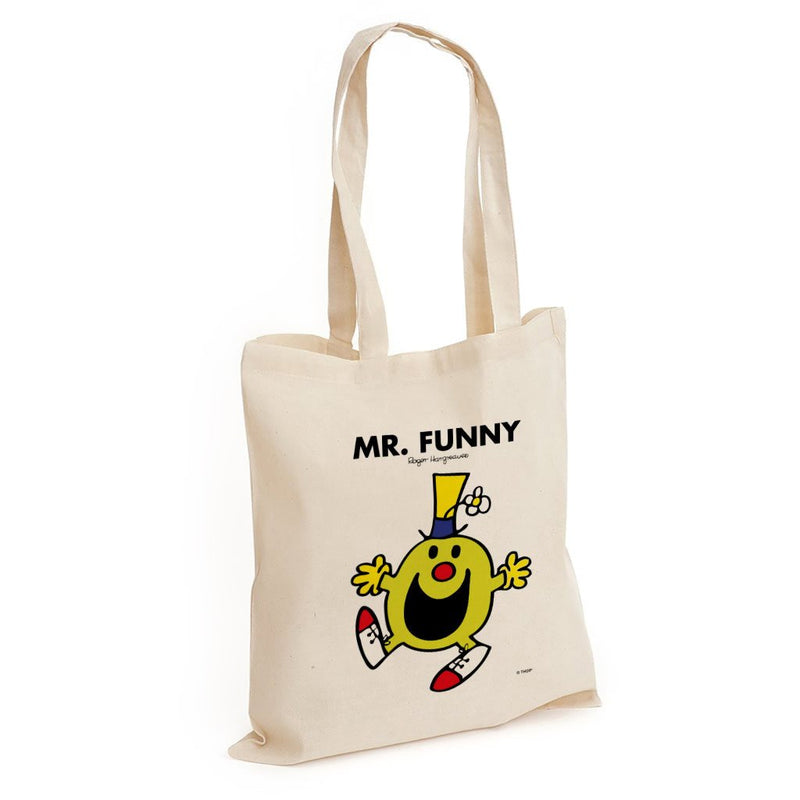 Mr. Funny Long Handled Tote Bag