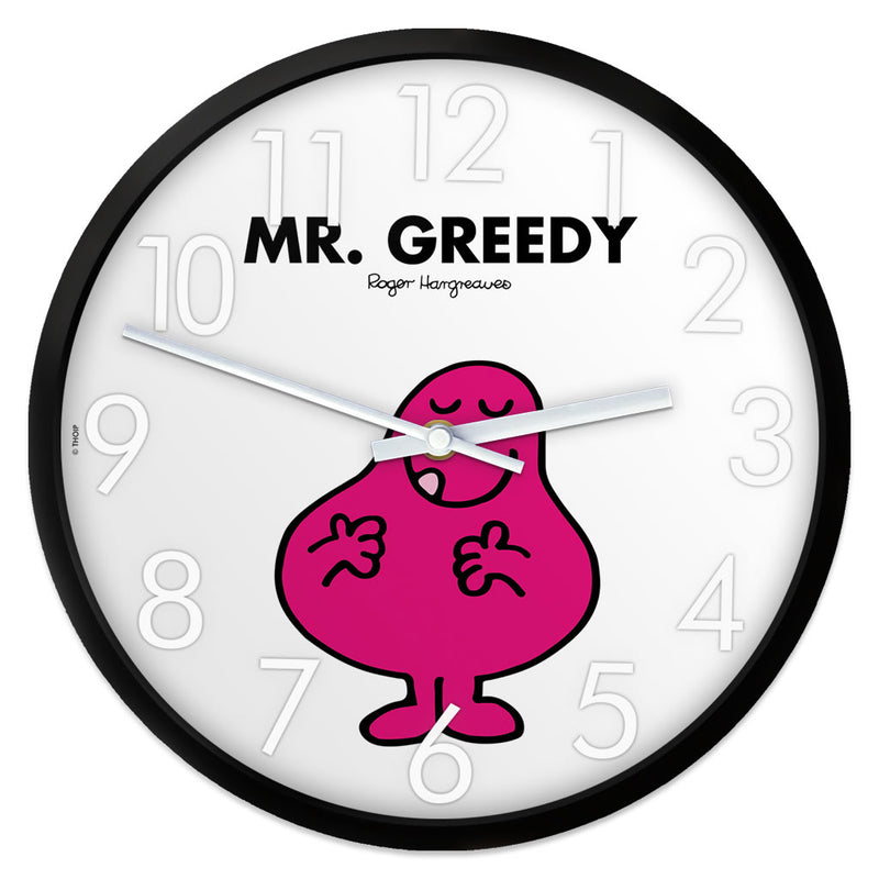 Mr. Greedy Personalised Clock