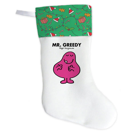 Mr. Greedy Christmas Stocking (Front)