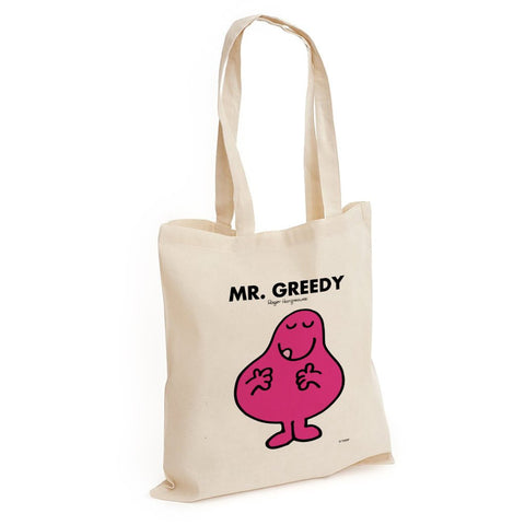 Mr. Greedy Long Handled Tote Bag