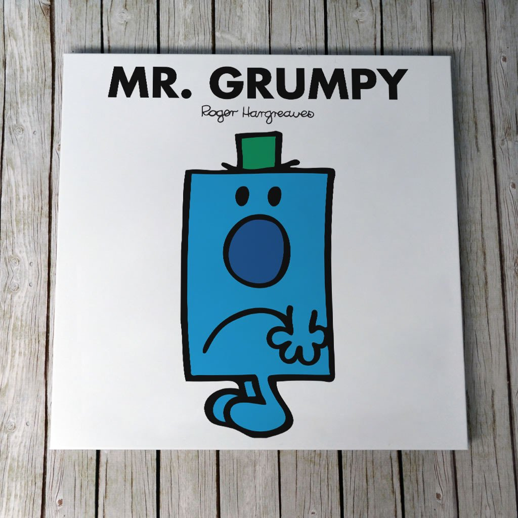 Mr. Grumpy Canvas (Lifestyle)
