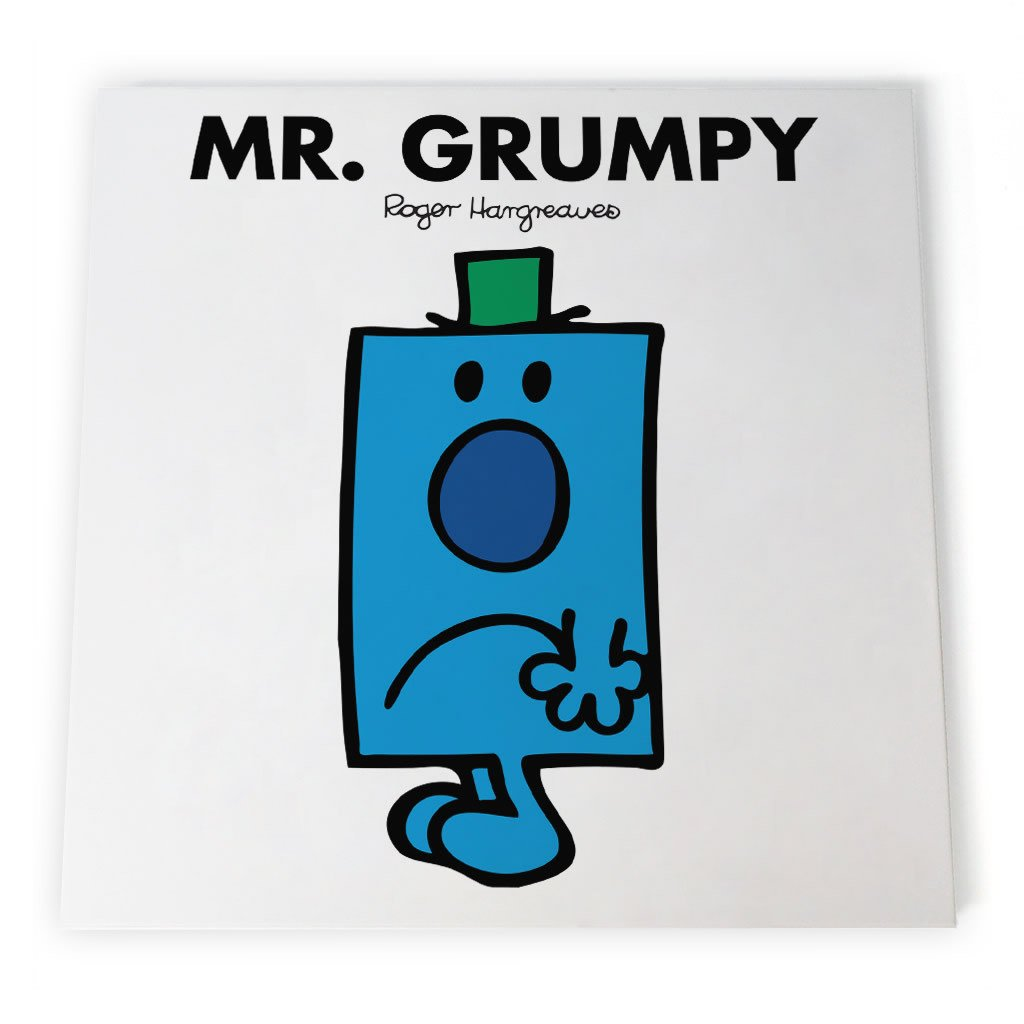 Mr. Grumpy Canvas