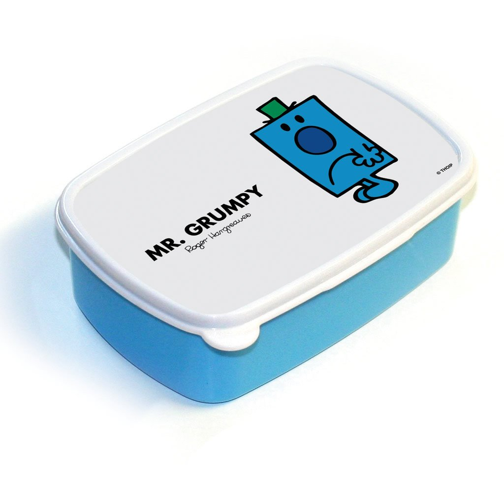Mr. Grumpy Lunchbox (Blue)