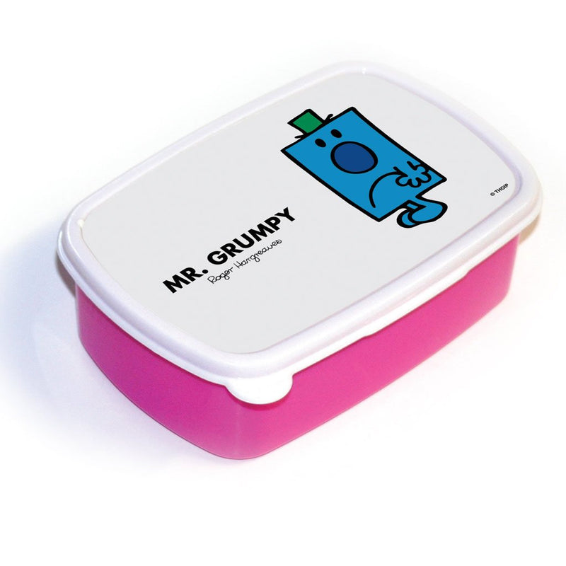 Mr. Grumpy Lunchbox (Pink)