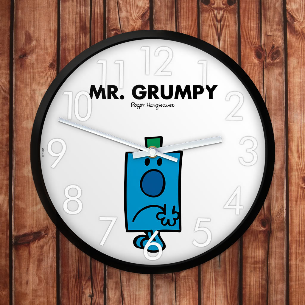Mr. Grumpy Personalised Clock (Lifestyle)