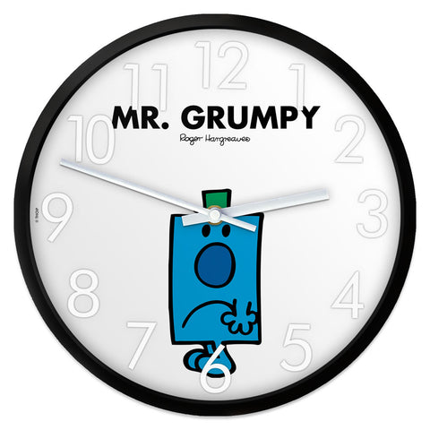 Mr. Grumpy Personalised Clock