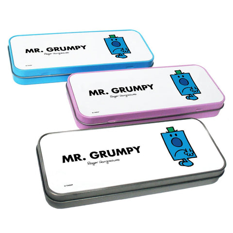 Mr. Grumpy Pencil Case Tin