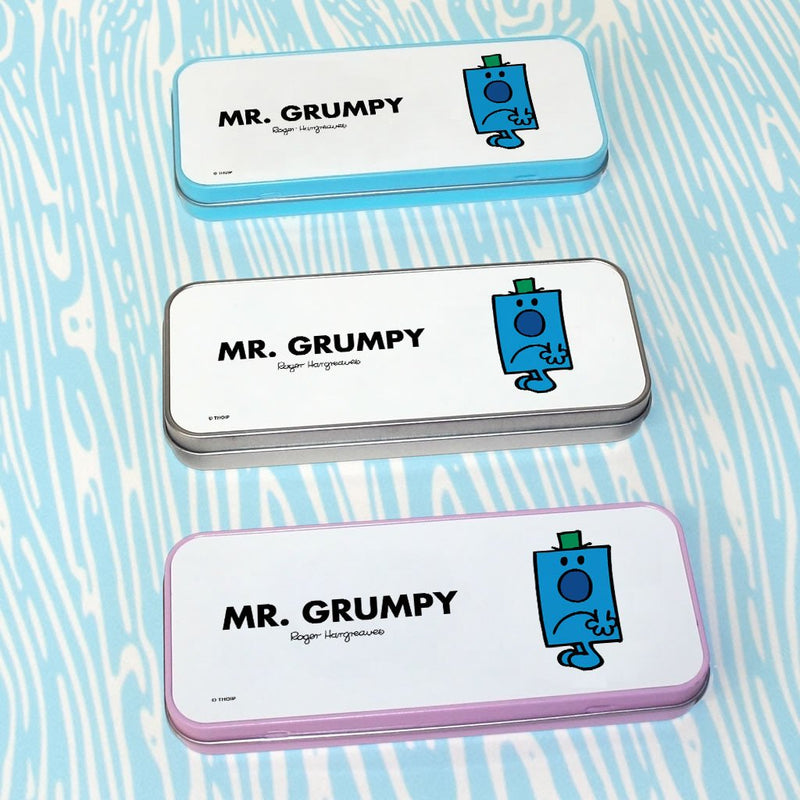 Mr. Grumpy Pencil Case Tin (Lifestyle)
