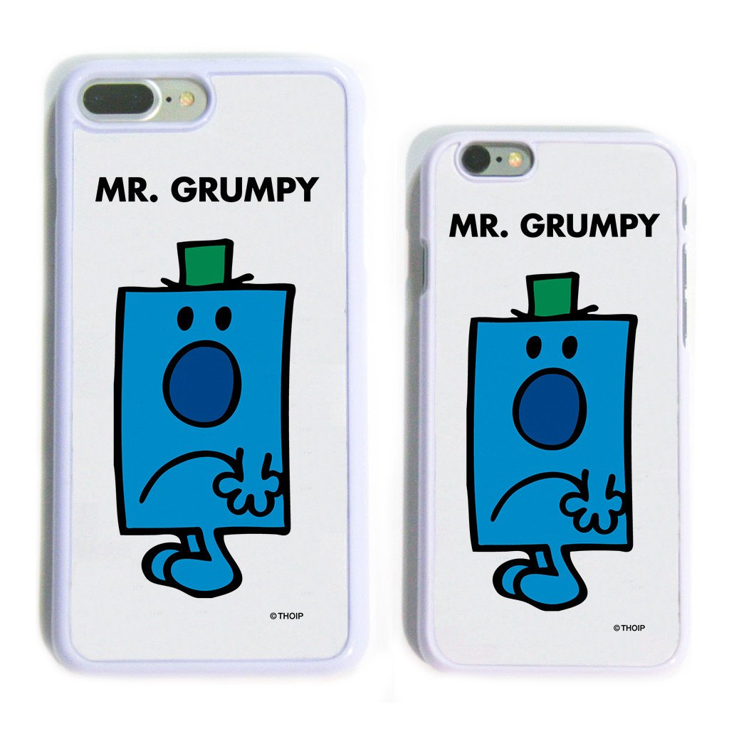 Mr. Grumpy White Phone Case